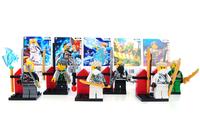 New Phantom Ninja 8 Generation,0065-0070 Block Minifigures,Enlightenment Educational Assembled Toy For Children. No Original Box