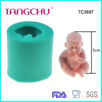 Silicone fondant gum paste  High quality baby  Shape  cake Tool