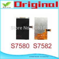 1pcs/lot  100% Original  LCD Screen Display For Samsung Galaxy S Duos 2 S7582 S7580 LCD SCREEN  DISPLAY Free ship