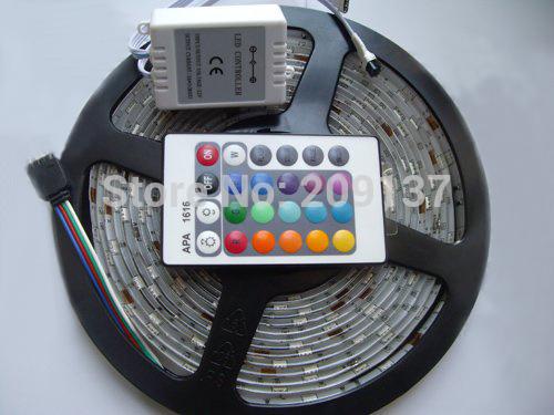 5m 300LED 5050 SMD non-waterproof 12V flexible light 60led/m LED strip, white/warm white/blue/green/red/RGB(China (Mainland))