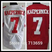 San Francisco #7 Kaepernick Men's Elite Sports Jersey american football Jerseys,Embroidery Logo,Free Shipping,Accept Mix Order