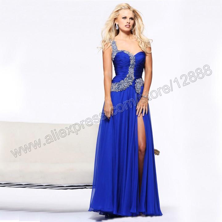 Вечернее платье Loveforever Royal Blue P2380