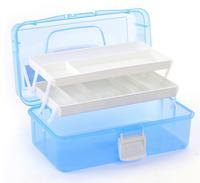 New Fashion Nail Art Tool Box Multi Utility Storage 3 Layer Plastic Case Makeup Craft Manicure Salon Kit Accessories