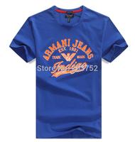 2014 Free Shipping summer new! detonation model of short sleeve casual polo shirt menswear  t-shirts Tops & Tees