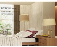 Simple stripe wallpaper bedroom non-woven wallpaper the living room TV backdrop wallpaper moonlight forest