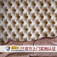 leather pvc waterproof brown wallpaper for super 3d wallpaper decorative bedroom wall New FashionEmbossed fondos de pantalla 3d