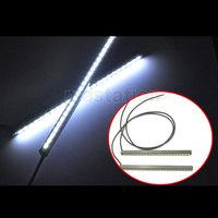 One Pair  24 SMD Ultra-thin 5630 24W LED Car DRL Daytime Running Light Fog Head Lamp Waterproof 12V