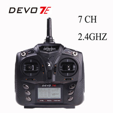 100% Original Walkera DEVO 7E 2.4G 7CH DSSS Radio Control Transmitter for RC Helicopter Airplane Model 2(China (Mainland))