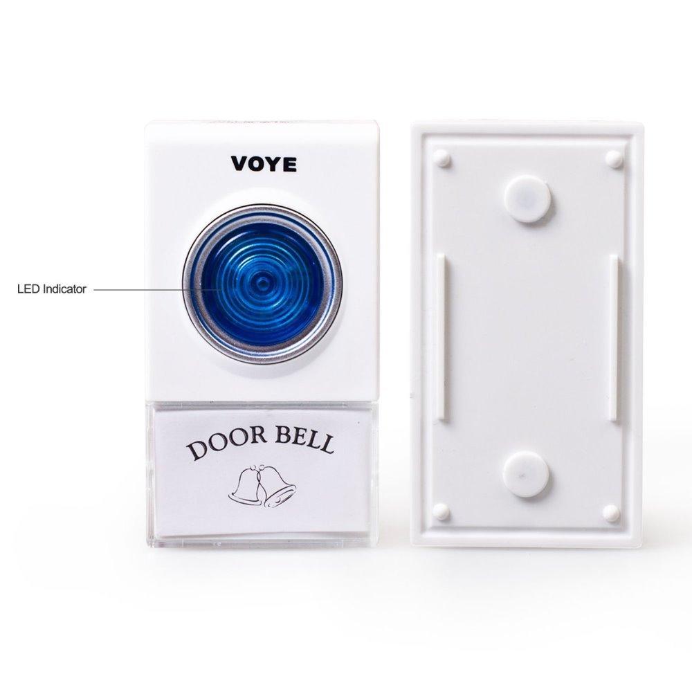 беспроводной дверной звонок 1 пульт дистанционного управления + 2 беспроводной дверь колокольчик дверной звонок 38 песни музыка dhl свободный корабль