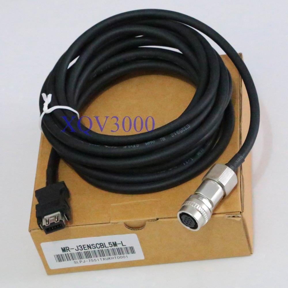 Programming Cable for MR-J3ENSCBL5M-L encoder MR-J3 HC-SP Cable cord(China (Mainland))