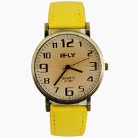 2014 New Brand Yellow Children Men's Man Digital Watch Women Ladies Girl Gifts Dress Hous Clock Wrist Watches, Free Shipping
