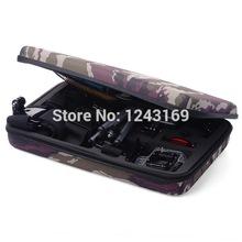 33cm x 22cm x 7cm Big Portable Travel Storage Protective Carry Case Bag for GoPro Hero