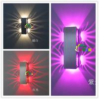 85-265V 2w LED Lighting Indoor Wall KTV Decorate Lights Lamps Luminaire Sconce Livingroom Bedroom art deco wall sconce lighting