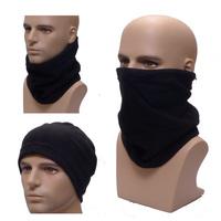 Outdoor warm Full Face Cover Winter Ski Mask Beanie Scarf Hat Dzy Biker Motorcycle Neck Hat  Headwear  multi-purpose cap