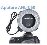 Aputure AHL-C60, Amaran Halo 60 LED Macro Ring Flash Light for Canon DLSR Cameras 5D MARK II III 650D 550D 450D 7D 5D2 60D 600D