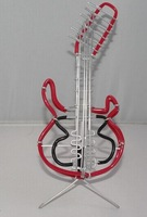 home decoration creative gift souvenir pure handmade metal crafts aluminium guitar model  wholesale