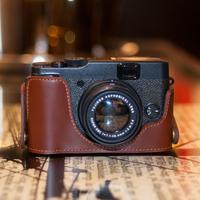 Fuji for x2 0 x10 genuine leather camera bag base for x2 0 holsteins fashion