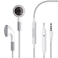 Best Quality Blue Board Earphone Volume Remote Control W/ Mic For Apple IPhone 4S Microphone Headphone 3.5mm fone de ouvido