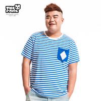 Thepang men's plus size clothing summer short-sleeve T-shirt casual basic top plus size plus size