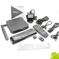 MINIX NEO X8 4K Quad Core Cortex A9r4 S802H Android KitKat 4.4 Smart TV box XBMC 2GB 8GB WIFI Bluetooth + MELE F10  AIRMOUSE