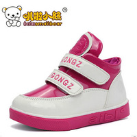 Free shipping high-cut  children shoes and  Casual  Candy  colors kid shoes