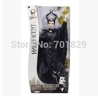 Wholesale 10pcs/Lot  Faddish Latest 2014 Movie Sleeping Beauty Maleficent Princess Aurora Maleficent PVCPlush Doll Free Shipping