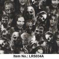 Exclusive skull water transfer printing Film item no.LRS034A