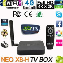 2014 MINIX NEO X8-H X8H Android 4.4 TV BOX Amlogic S802-H Quad Core 2.0Ghz Mini PC 4K2K 2G/16G 2.4G/5GHz WiFi XBMC Media Player(China (Mainland))