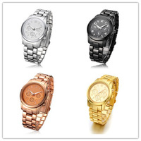 2014 New arrival Diamond shinning M watch unisex watches fashion women watch gift watch