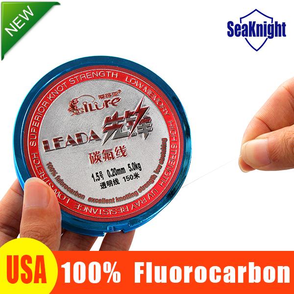 SeaKnight 100% Fluoro carbon fishing line 150m Monofilament leader fluorocarbon fishing lines 1.0 1.5 2.0 3.0 4.0 Me(China (Mainland))