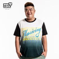 Thepang men's plus size clothing 2014 summer casual short-sleeve T-shirt plus size plus size loose o-neck Large