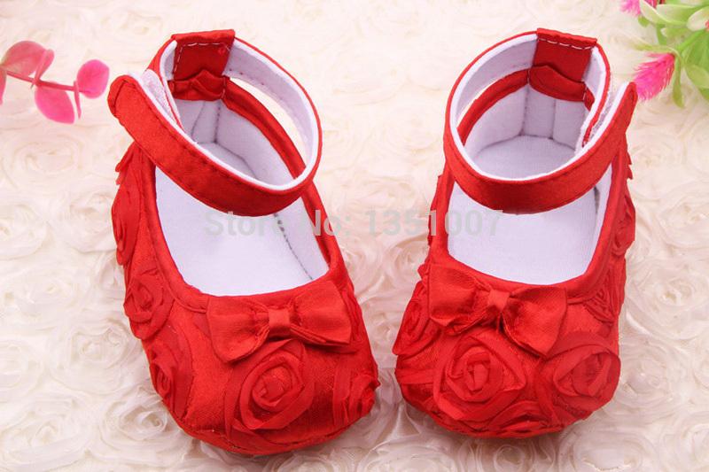 Girls ShoesTodder Pre-walker Shoes Infant Baby Girl Prewalker Flower Soft Sole Shoes Baby Shoes Little Spring Drop ship(China (Mainland))