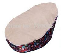 Free shipping high quality waterproof baby beanbag, circles pattern kids toddler bean bag chair, sleeping bean bags