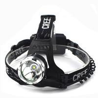 1600 Lumens Waterproof  T6 LED 3 Brightness Modes Headlamp Headlight Head Lamp Light for Outdoor Sports Camping Hiking