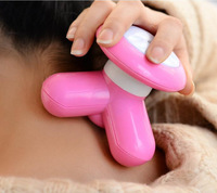 Mini USB Electric Handled Wave Vibrating Massager Full Body Care Massager New Mini USB massor Suitable for USB or battery power