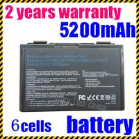4400mAh 6 Cell Battery Pack for Asus K40 / F82 / A32 / F52 / K50 / K60 L0690L6 A32-F82 k40in