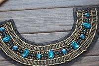 Warfactory beading diamond cravat clothes accessories diy clothes accessories