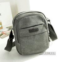 Free shipping new fashion casual bag outdoor shoulder bag canvas men's travel bags men messenger bags