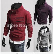 cheap shipping coat hot man fashion hot sale 2014 new styles Men's Autumn and winter cardigan Korean men's Hoodie Jacket(China (Mainland))