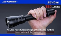 Free shipping Jetbeam BC40SE Cree XM-L2 LED 980 lumens Flashlight uses 2*18650 or 4*CR123 batteries High Power Torch