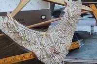 Cravat warfactory beading l laciness epaulette collar lace corsage diy clothes accessories false collar