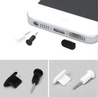 Free Shipping 500pcs/Lot 3.5mm Headphone  Anti Dust Plug Cap Stopper for iPhone 5 5S