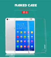 HUAWEI X1 Clear cover,screen flim + BEPAK Naked SHIELD Ultra Thin Crystal PC Case for HUAWEI Honor X1 MediaPad X1 + freeship