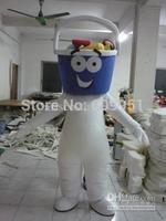 2014 adult size Halloween Christmas trash can Mascot Costume Fancy Dress Hot Sale