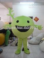 2014 adult size Halloween Christmas custom plant  Mascot Costume Fancy Dress Hot Sale