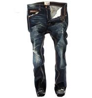 2014 New fashion Men's Designer Jeans Denim Straight Black Jeans Man Brand, Cotton Pants