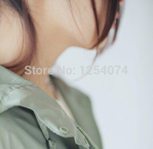 Бесплатная доставка YSYT мода стильный дамы с капюшоном плащ плащи быстро сухой прекрасный милые дамы девушка женщина