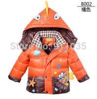 Free shipping/ Children down jacket cotton baby boy girl's cartoon