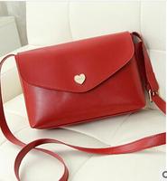 Heart little bag 2014 summer new fashion envelope bag influx of women handbags mini shoulder diagonal packet