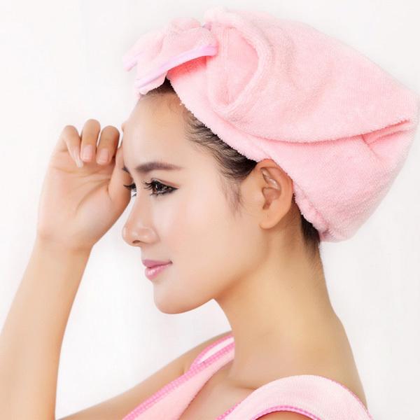 Как сделать горячее полотенце для волос